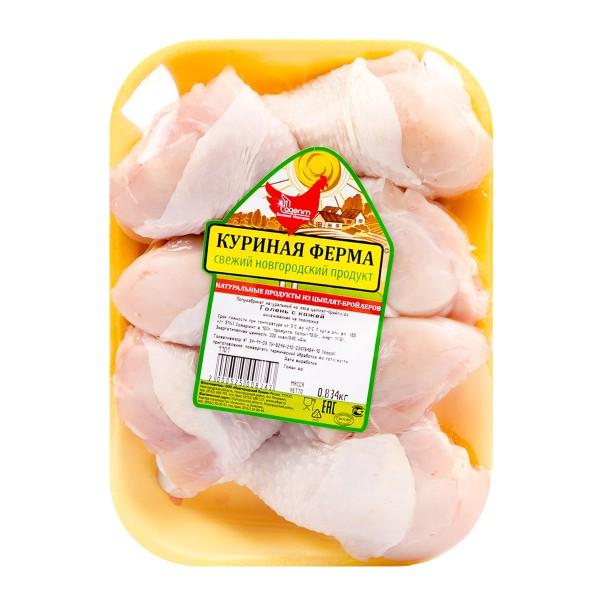 Голень цыпленка-бройлера охлажденная Куриная ферма
