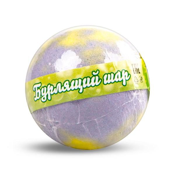 Соль для ванн Бурлящий шар Цветочная мелодия 120гр
