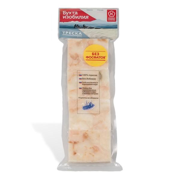 Филе трески порционное замороженное Бухта изобилия 400гр