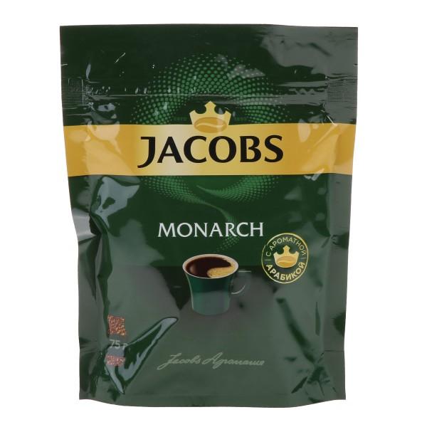 Кофе растворимый Jacobs Monarch 75гр