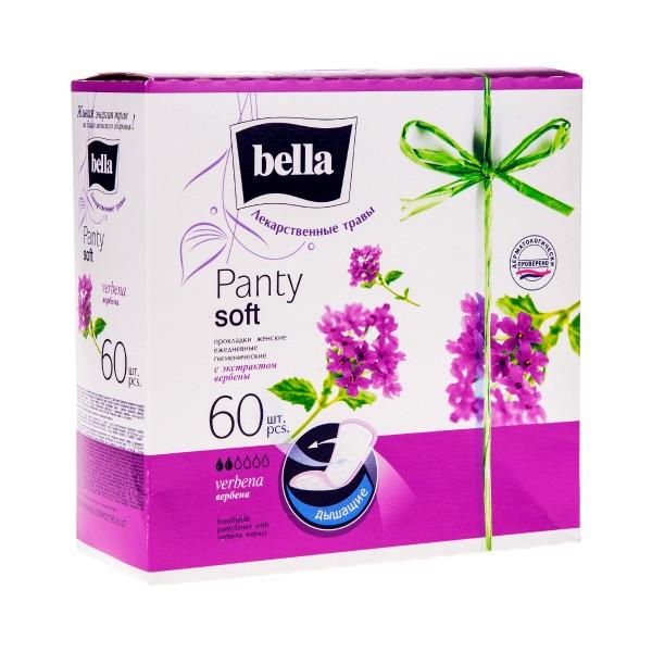 Прокладки ежедневные Bella Panty herbs 60шт вербена