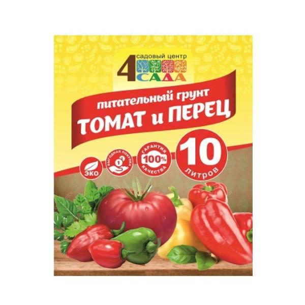 Грунт Томат-перец 4 сада 10л