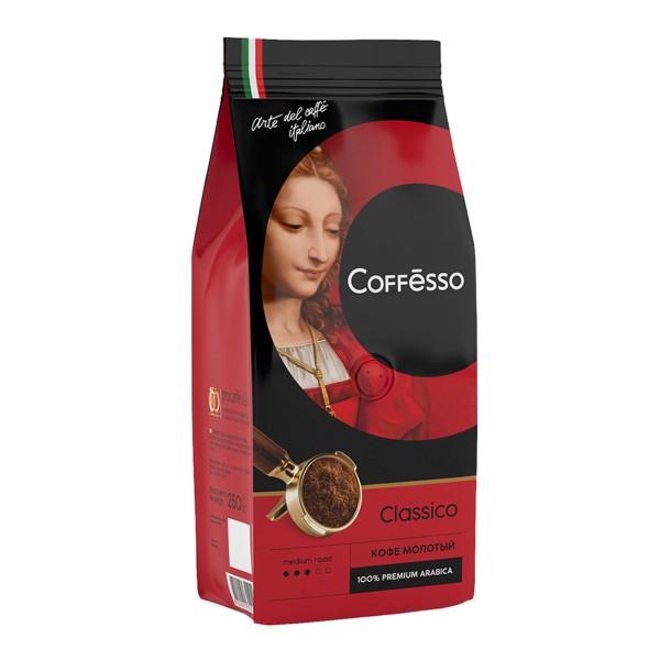 Кофе молотый Coffesso Classico Italiano 250гр