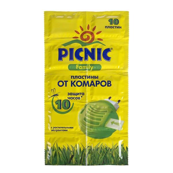 Пластины от комаров Picnic family 10шт