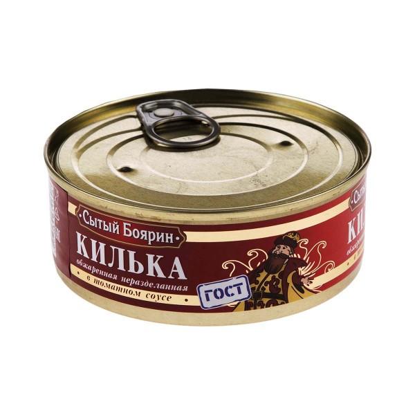 Килька балтийская в томатном соусе Сытый боярин 240гр