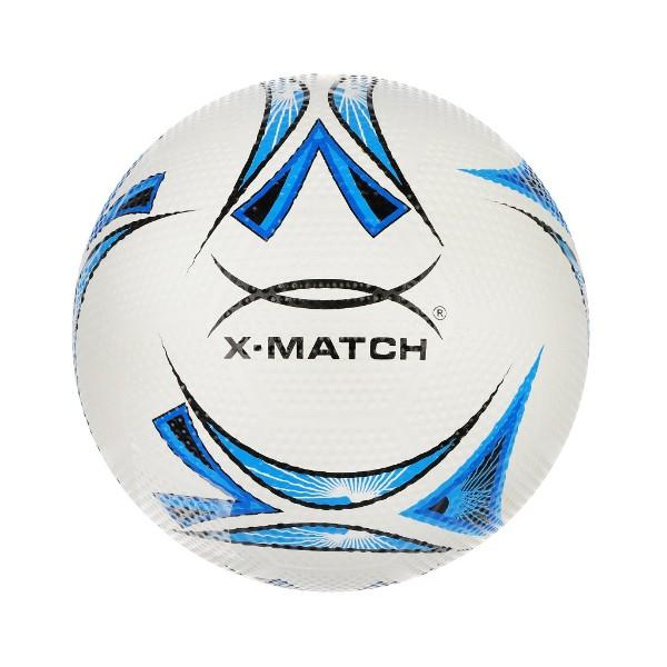 Мяч футбольный резиновый X-Match