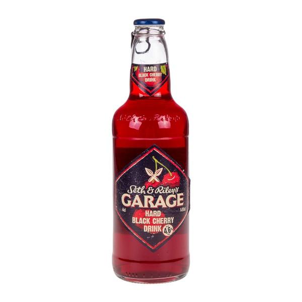 Напиток пивной Garage Hard  Black Cherry 0,44л 4,6%