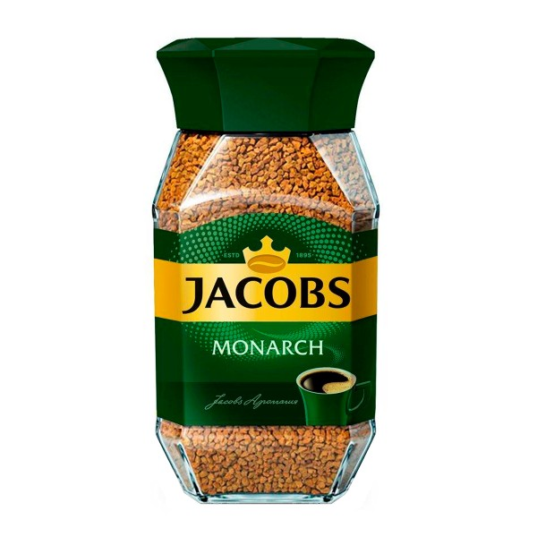 Кофе растворимый Jacobs Monarch 190гр