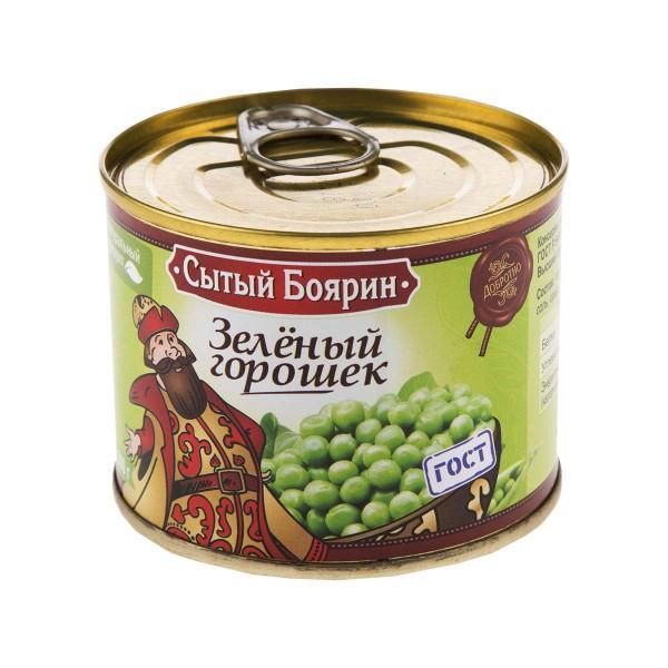 Горошек зеленый Сытый боярин 200гр
