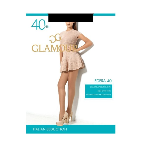 Колготки Edera Glamour 40 den nero 3