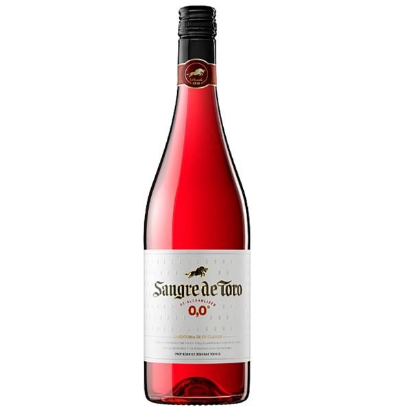 Вино безалкогольное розовое полусладкое Sangre de Toro 0.0, Dealcoholized Rose 0,75л