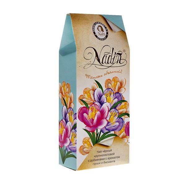 Чай черный Теплых объятий ароматизированный Nadin 50г
