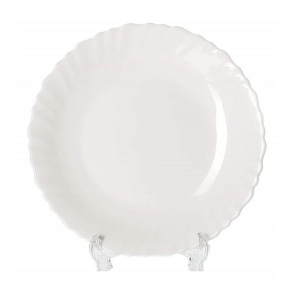 Тарелка обеденная без деколи МФК 24см