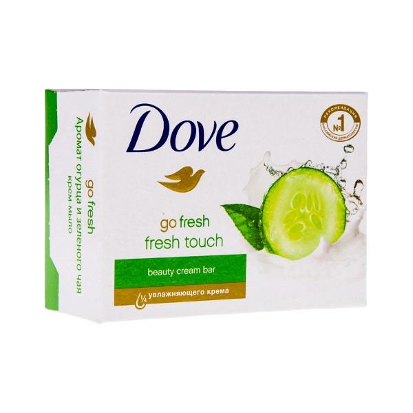 Крем-мыло Dove Прикосновение свежести 135гр