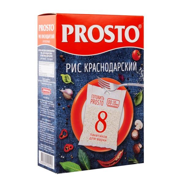 Крупа рис Краснодарский Prosto 500гр
