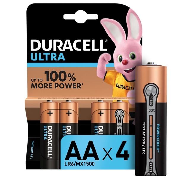 Батарейка Duracell Ultra Power AA LR6 4шт