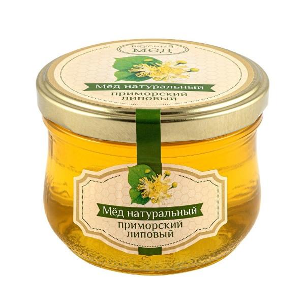 Мед Приморский липовый Вкусный мед 270г