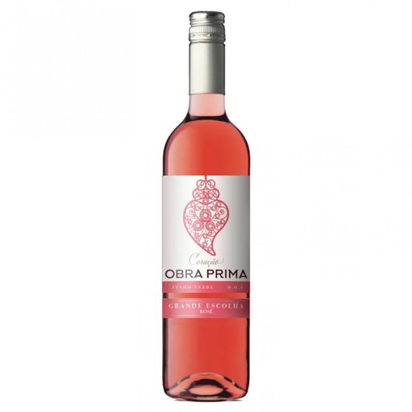 Вино розовое полусухое Obra Prima Grande Escolha Rose Vinho Verde 11%  0,75л