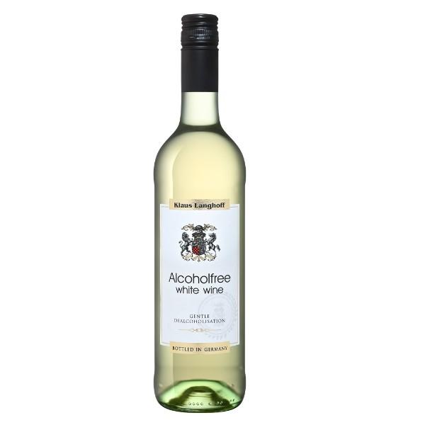 Вино безалкогольное белое газированное Klaus Langhoff Германия 0,75л