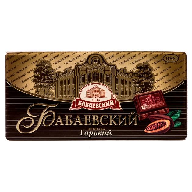 Шоколад горький Бабаевский 100гр