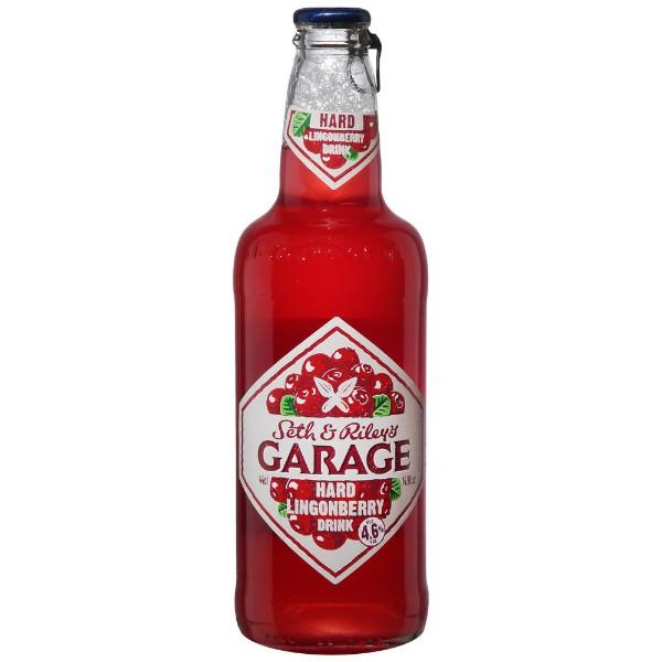 Напиток пивной Garage Hard Lingonberry 4,6% 0,44л