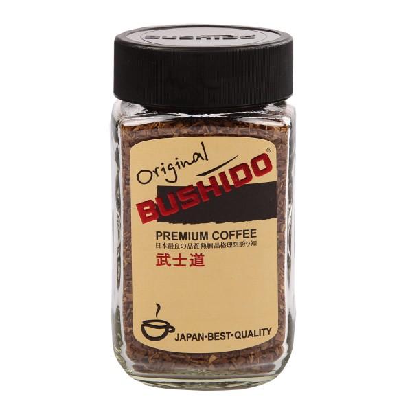 Кофе растворимый Bushido Original 100гр