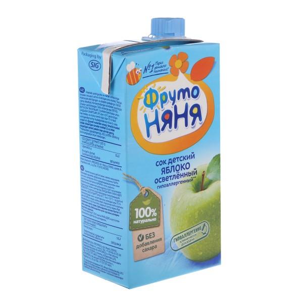 Сок детский ФрутоНяня 0,5л яблоко
