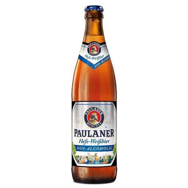 Пиво безалькогольное светлое Paulaner Hefe-Weissbier 0,5л