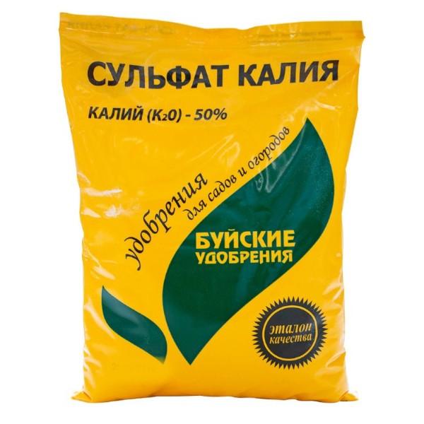 Удобрение Сульфат калия Буйский химический завод 0,9кг