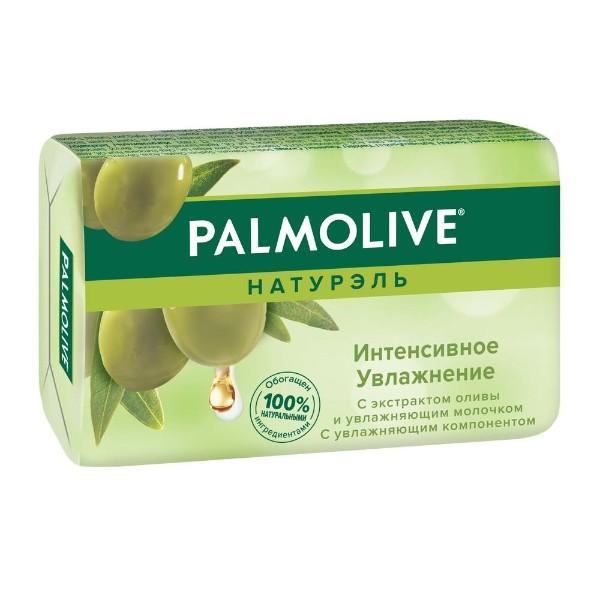 Мыло туалетное Palmolive Натурэль Интенсивное увлажнение 90гр с экстрактом оливы и увлажняющим молочком