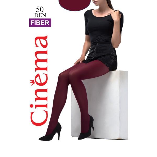 Колготки женские Cinema by Opium Fiber 50 den bordo 2