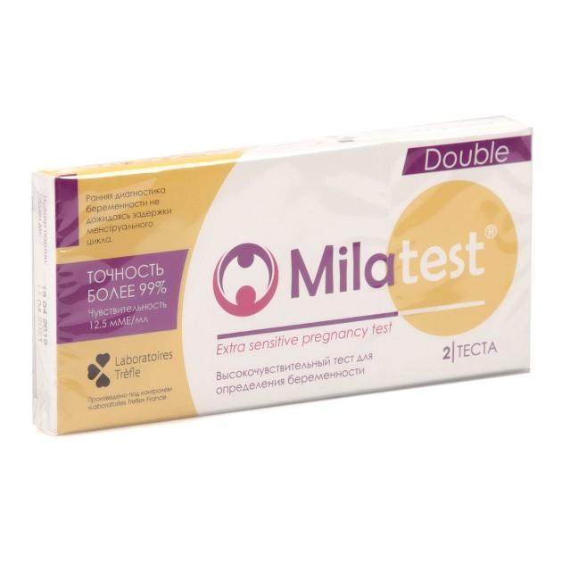 Тест для определения беременности Milatest 2шт