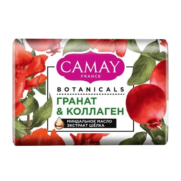 Мыло туалетное Саmay botanicals 85г цветы граната