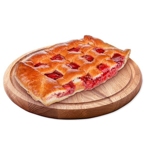 Пирог с клубникой производство Макси