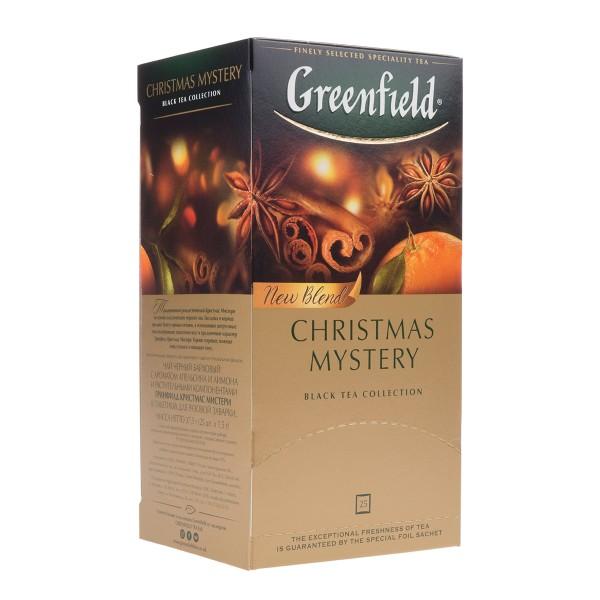 Чай черный Greenfield Christmas Mystery 25пак