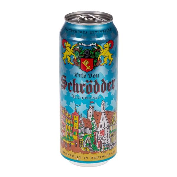 Пиво Отто Фон Шрёддер  пшеничное светлое  0,5л 5%