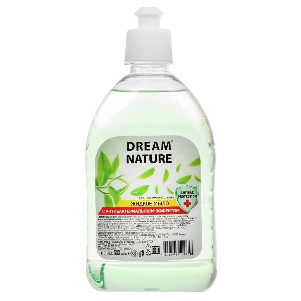 Мыло жидкое  Dream nature с антибактериальным эффектом 500мл