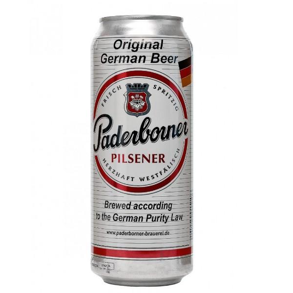 Пиво свтлое Paderborner Pilsener 4,8% 0,5л