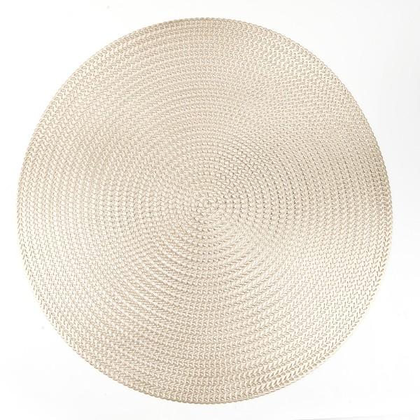 Салфетка сервировочная Золотое плетение 38см