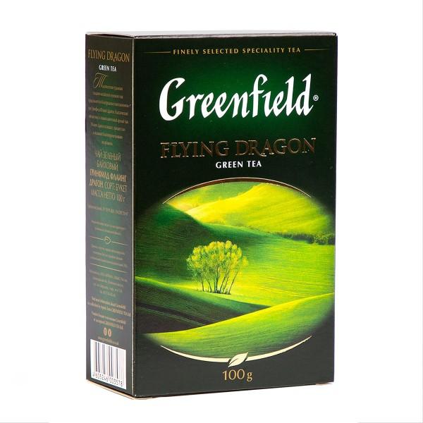 Чай зеленый Greenfield Flying Dragon 100гр