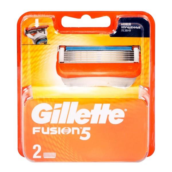 Кассеты Gillette Fusion 2шт
