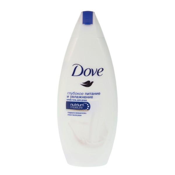 Крем-гель для душа Dove 250мл глубокое питание и увлажнение