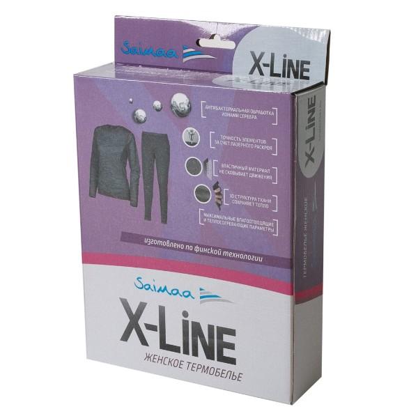 Женский комплект термобелья X-Line р.46