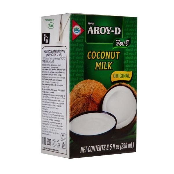 Молоко кокосовое Aroy-D 250мл