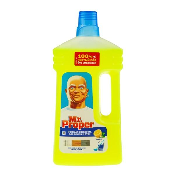 Средство для мытья полов и стен Mr.Proper 1л лимон