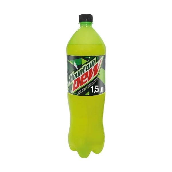 Напиток сильногазированный Mountain Dew 1,5л