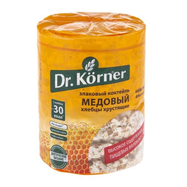 Хлебцы Dr.Kerner 100гр злаковый коктейль медовый
