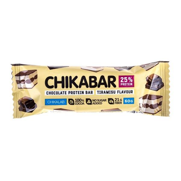 Батончик Chikabar глазированный Chikalab 60г тирамису