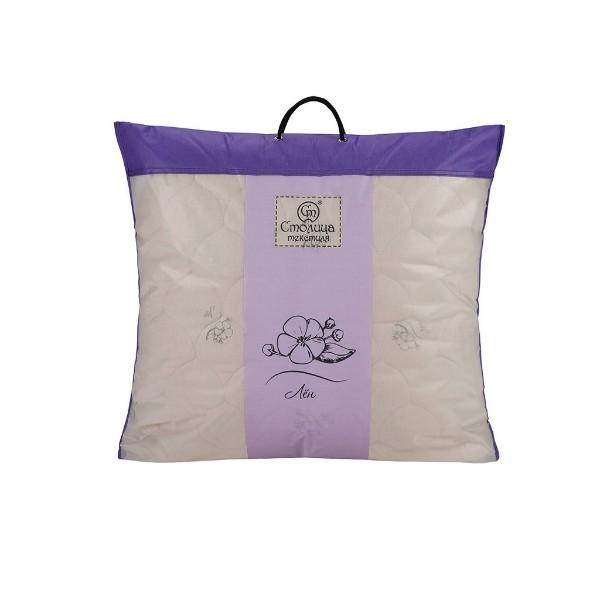 Подушка Лён поплин люкс 70х70см Коллекция премиум Столица текстиля