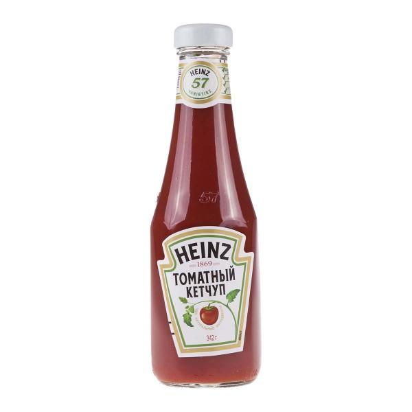 Кетчуп Томатный Heinz 342гр